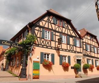 Die Antik Ofen Galerie in Burrweiler